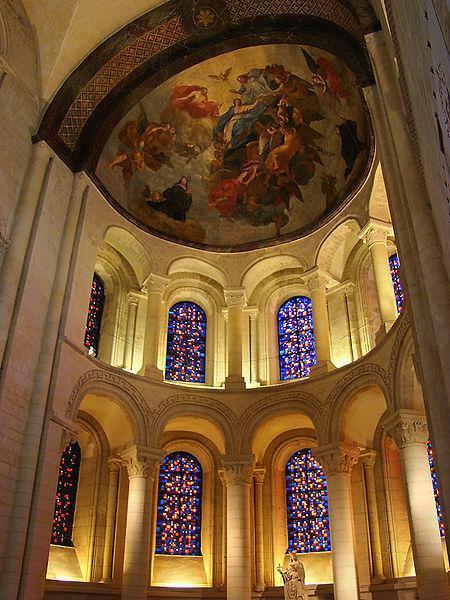 Abside de l'église abbatiale de la Trinité