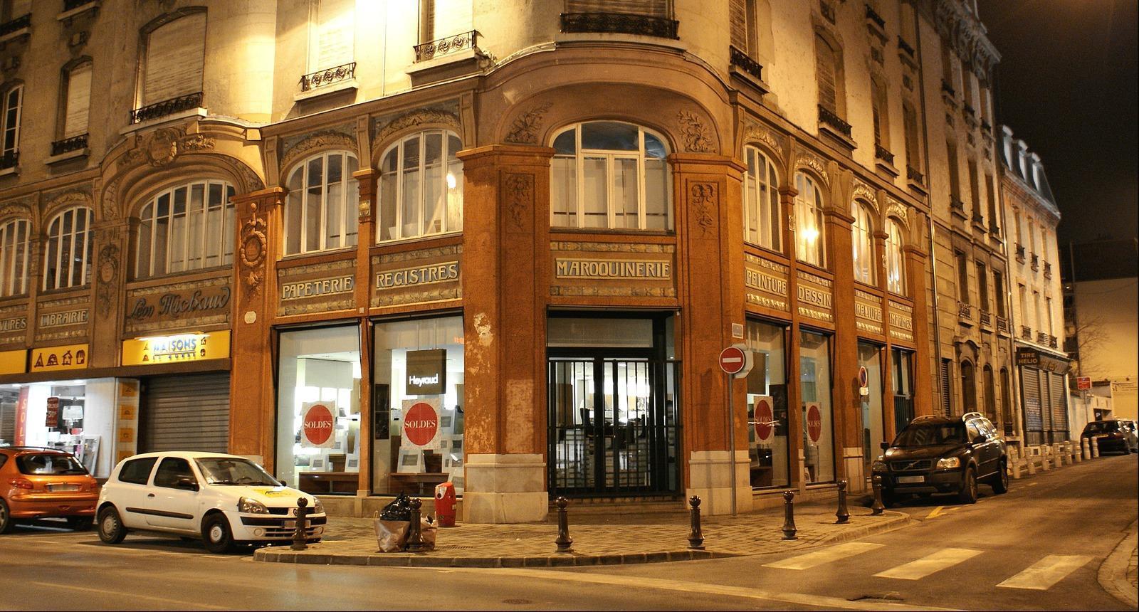 Reims Art Déco (ancienne librairie Michaud)