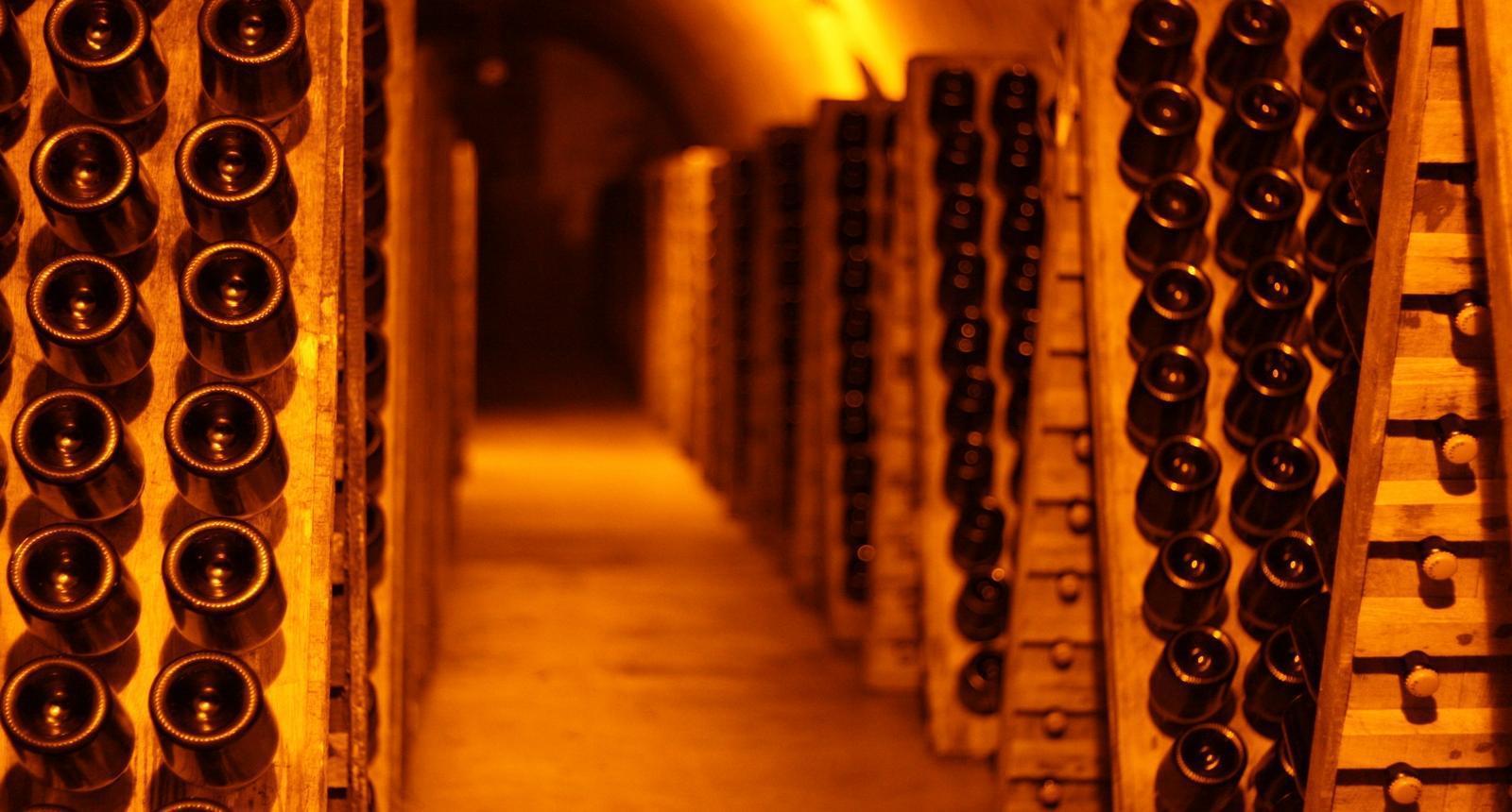Reims, Cave à Champagne