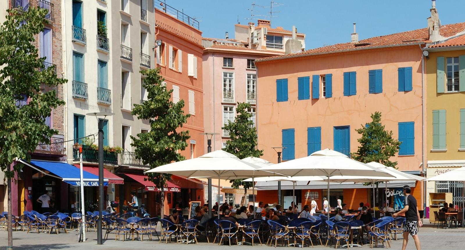 Perpignan, Place de la République