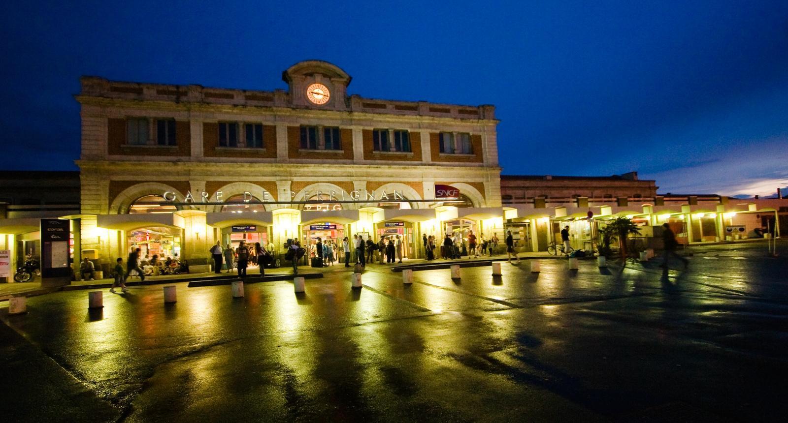 La Gare de Perpignan, si chère à Salvador Dali