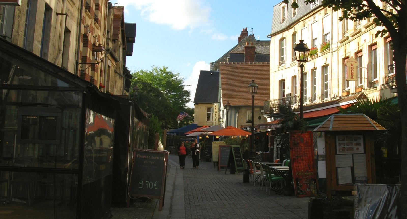 Rue du vieux Caen