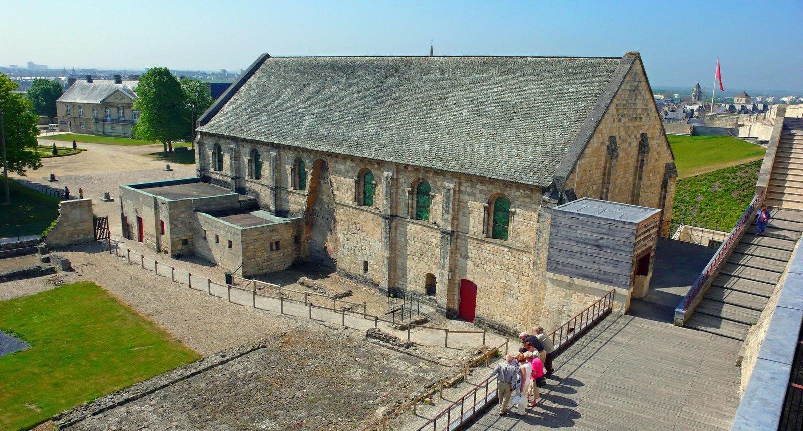 Caen, le Château Ducal