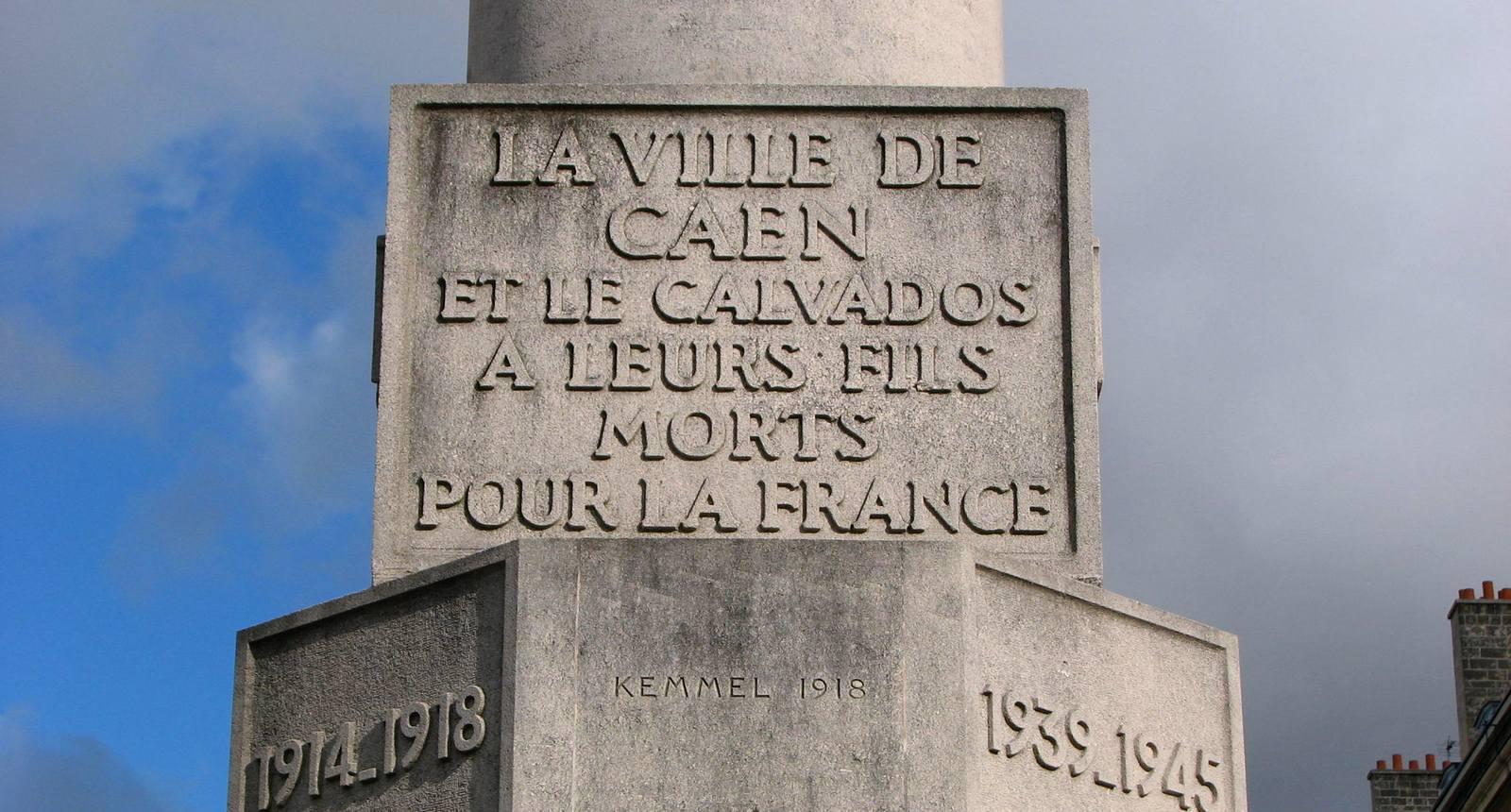 Caen, Mémorial de Guerre