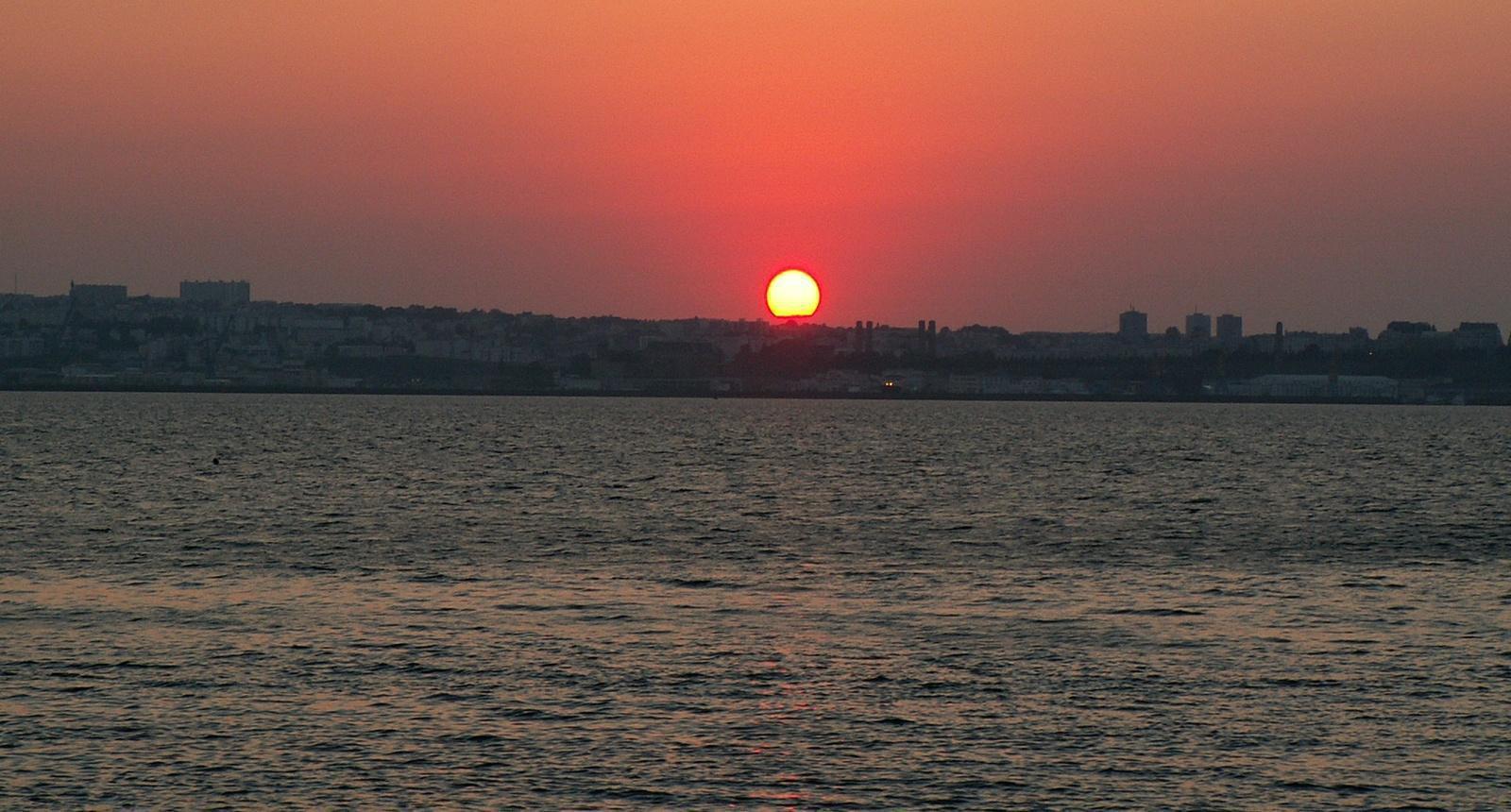 Coucher de soleil sur Brest