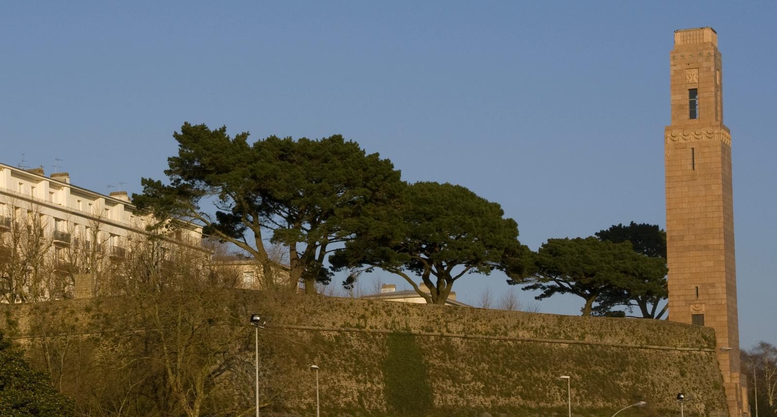 Brest, le Monument Américain