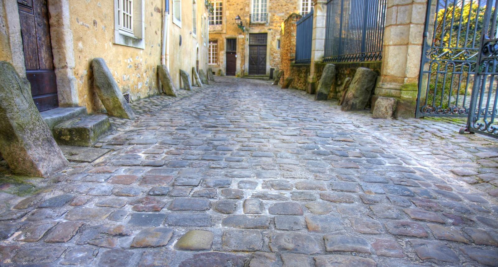 Dans la vieille ville du Mans