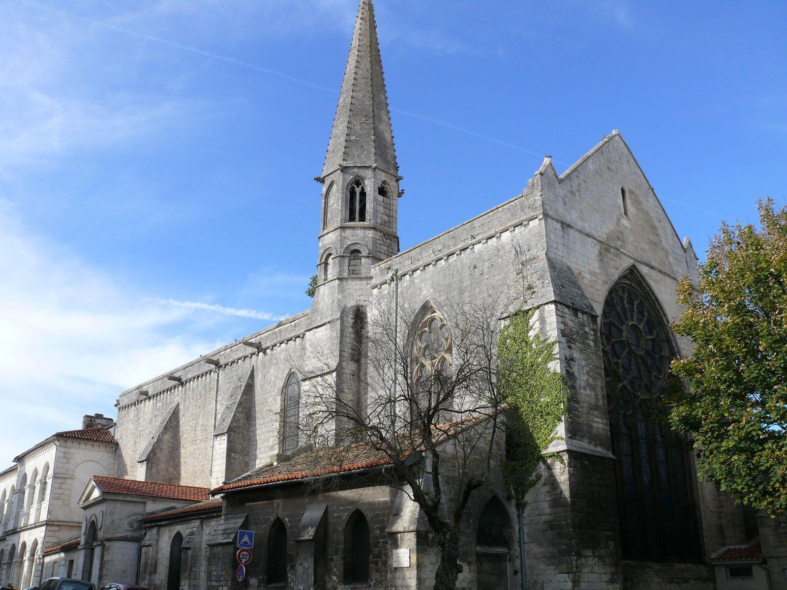 Ancienne chapelle des Cordeliers_Angoulême