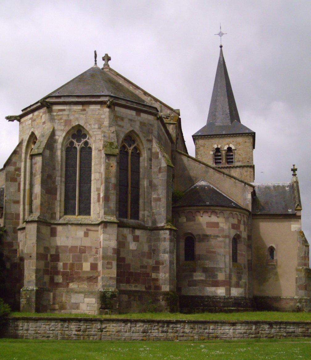 AncienNE EGLISE COLLEGIALE SAINT-LEGER_Marsal