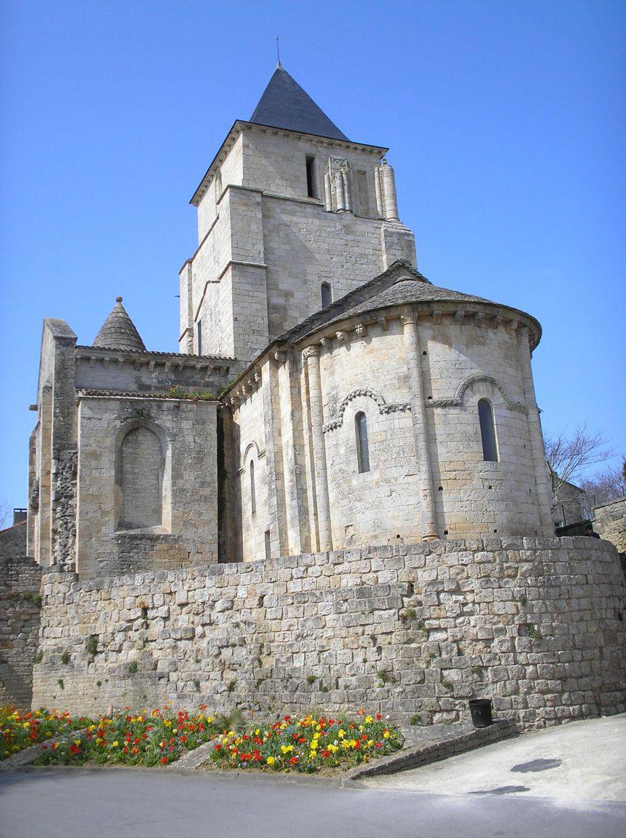 Ancienne église St-Savinien_Melle