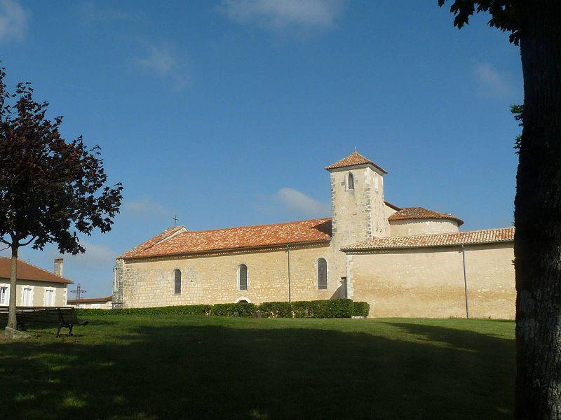 Chalais église st martial
