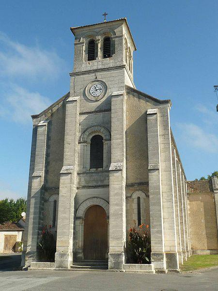 Chalais : église Saint-Christophe