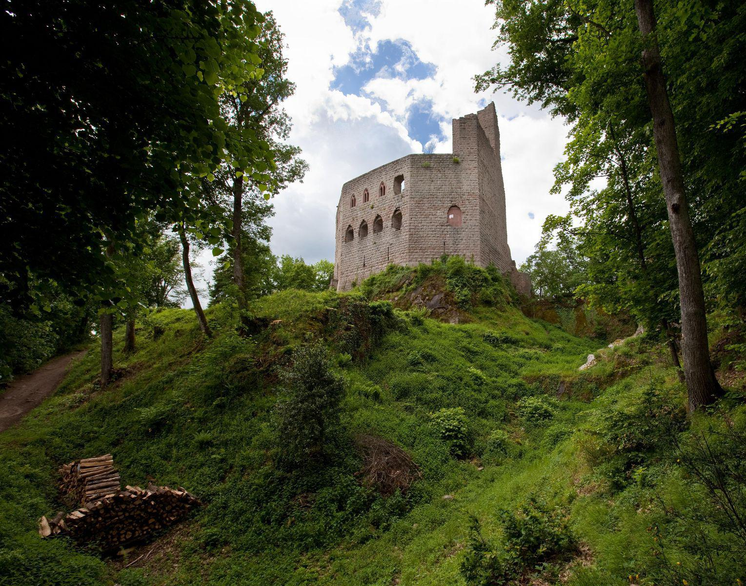 Château du Spesbourg_Andlau