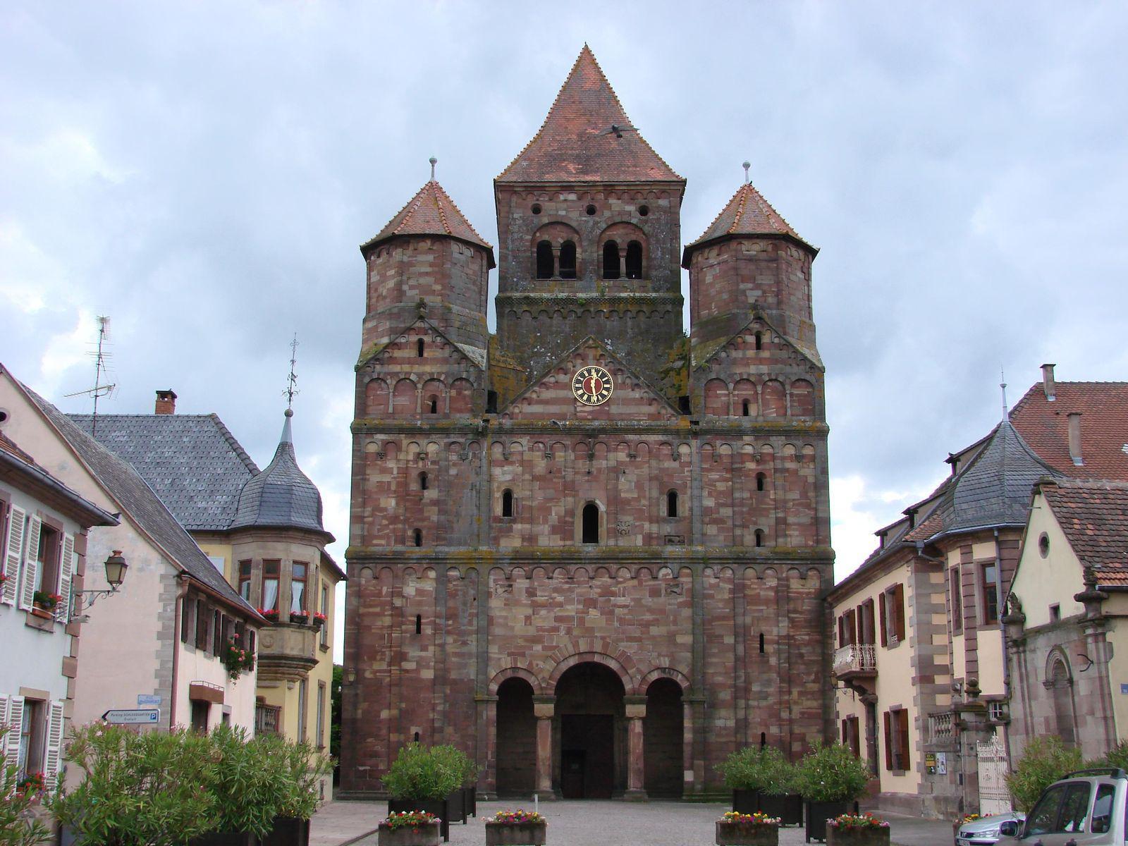 Église Abbatiale_Marmoutier