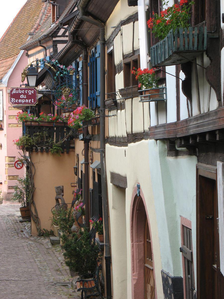Le circuit des remparts_Eguisheim