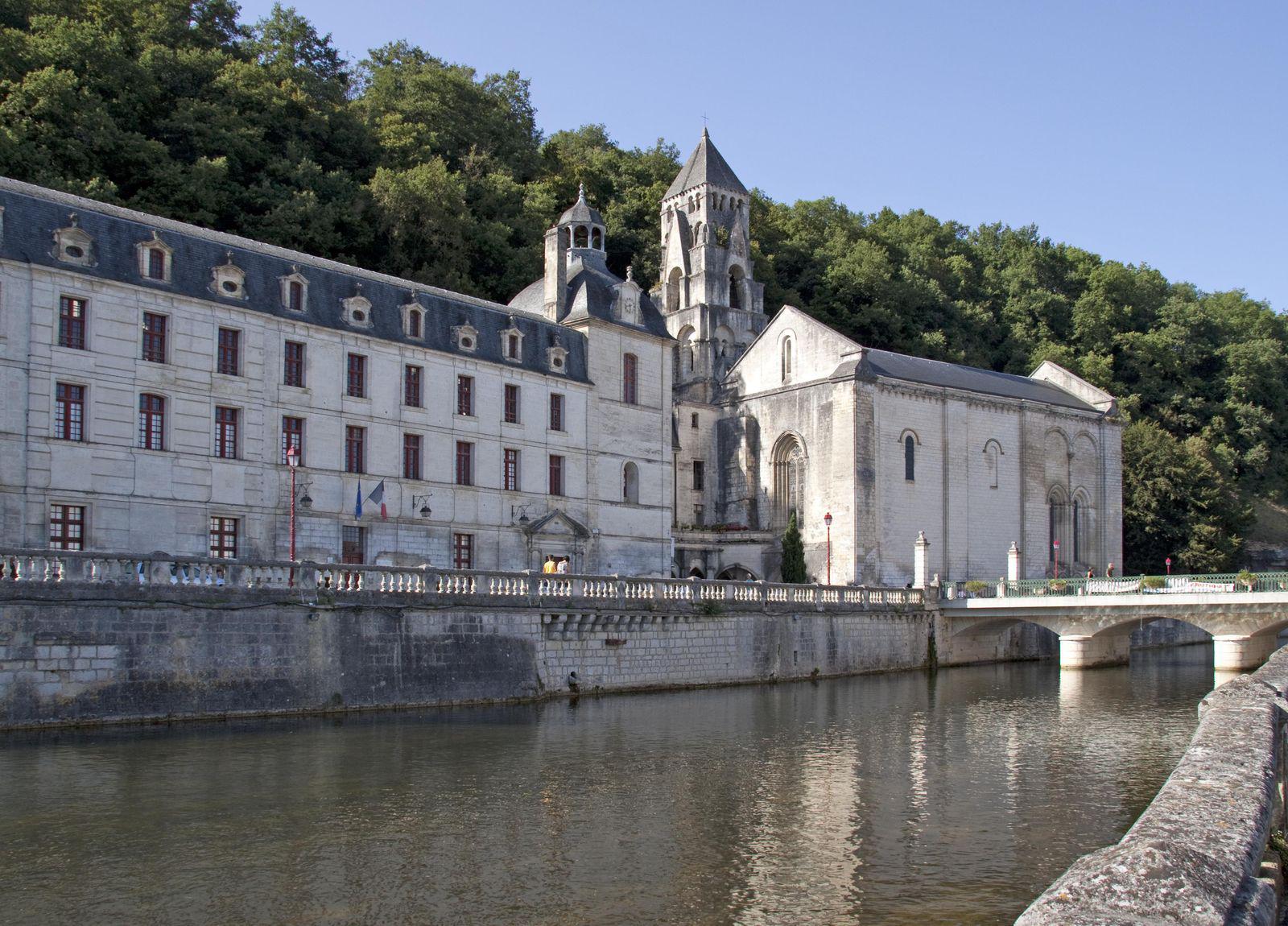 Clocher de Église Abbatiale_Brantôme