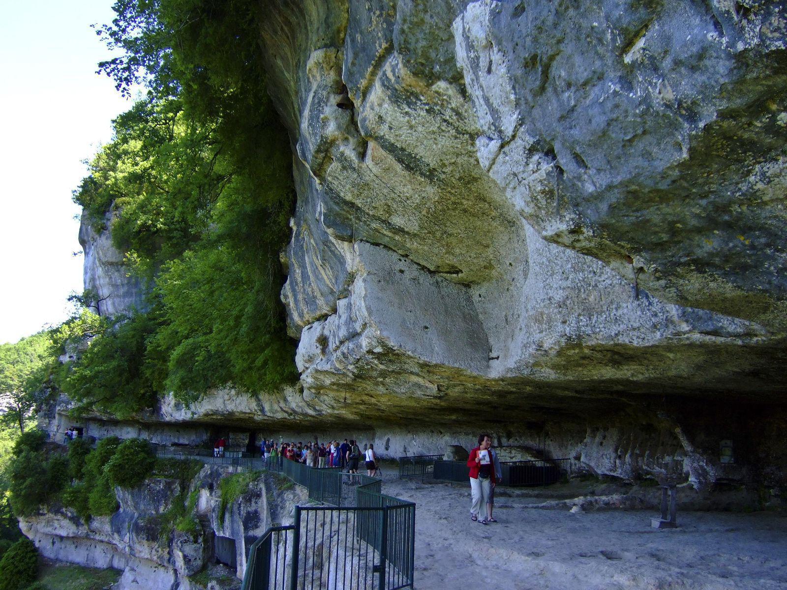 Image : La Roque Saint Christophe