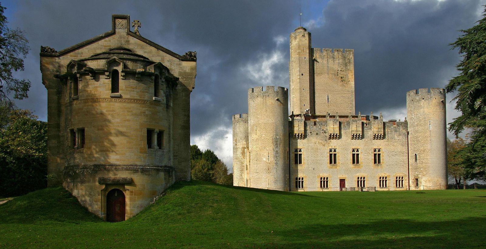 Château de Roquetaillade_Mazères