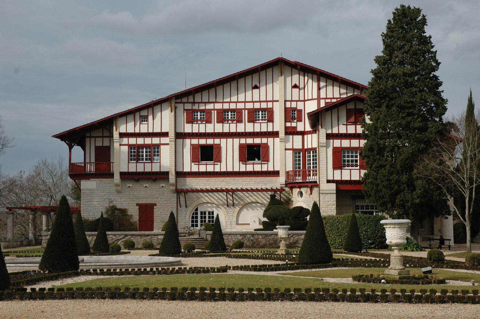Musée Arnaga - Demeure d'Edmond Rostand_Cambo-les-Bains