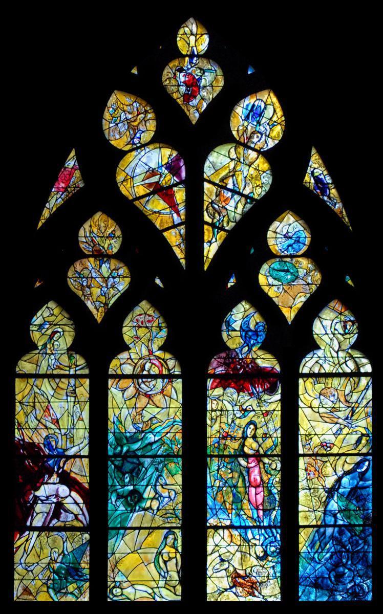 Vitraux de Cathédrale de MetZ_Metz