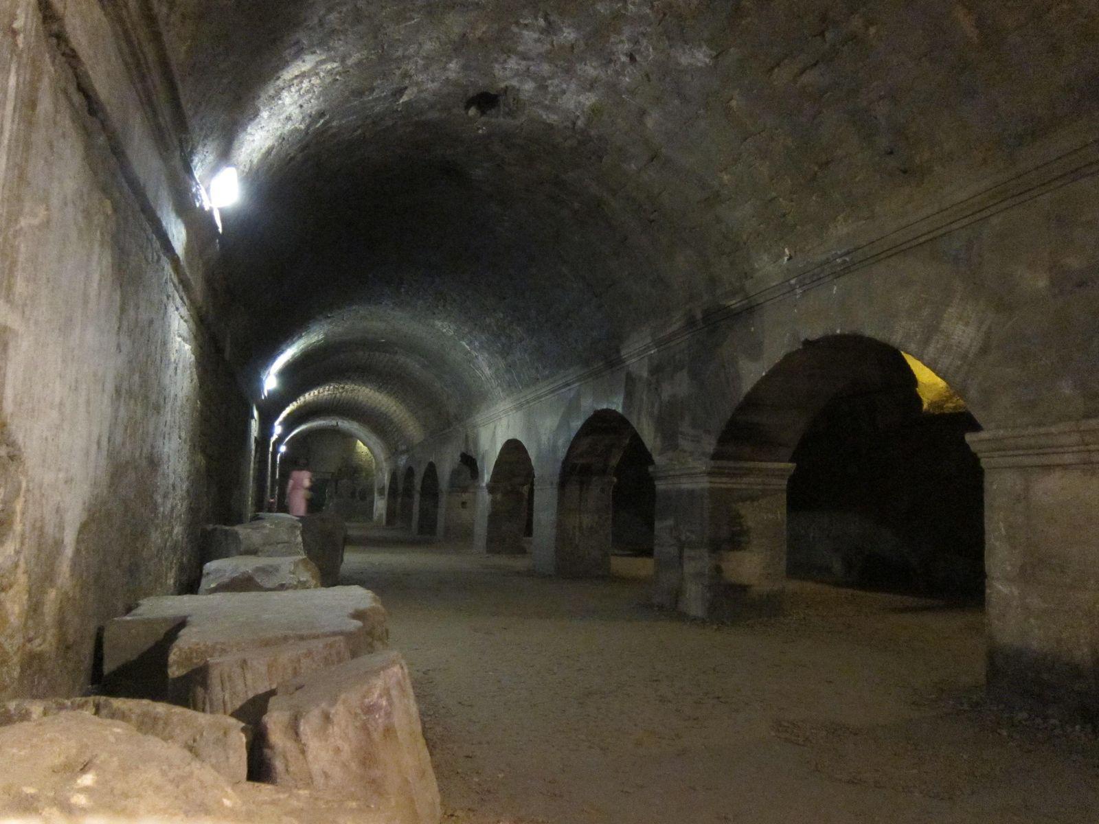 Cryptoportiques du Forum_Arles