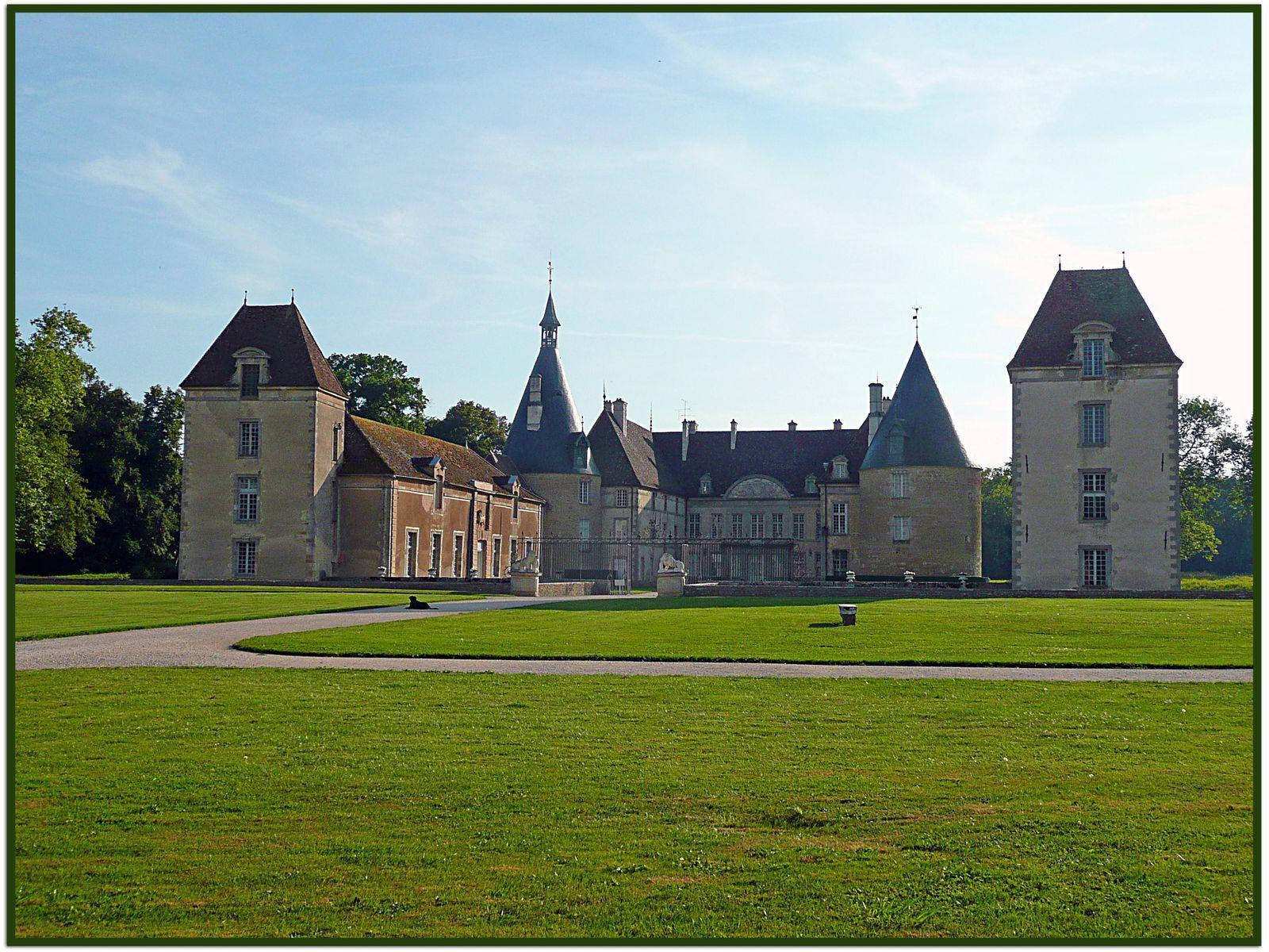 Château de Commarin_Commarin