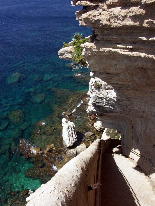 Escalier du ROY D'ARAGON_Bonifacio