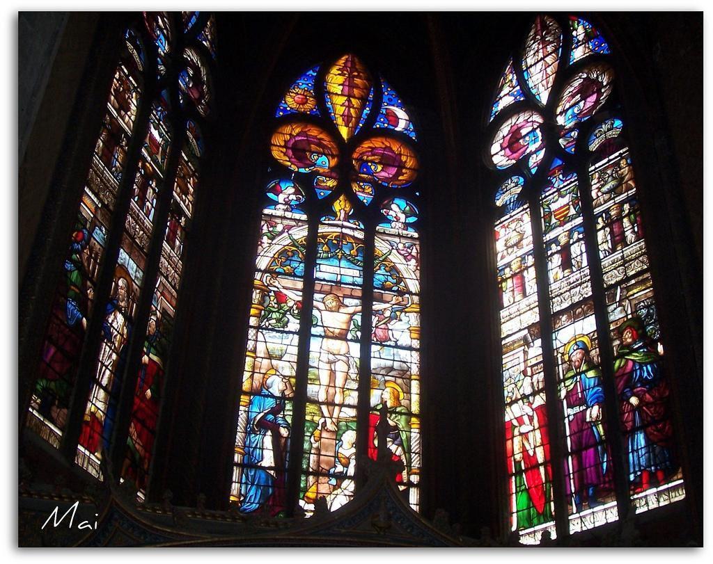 Vitraux - Cathédrale Sainte Marie_Auch (1)