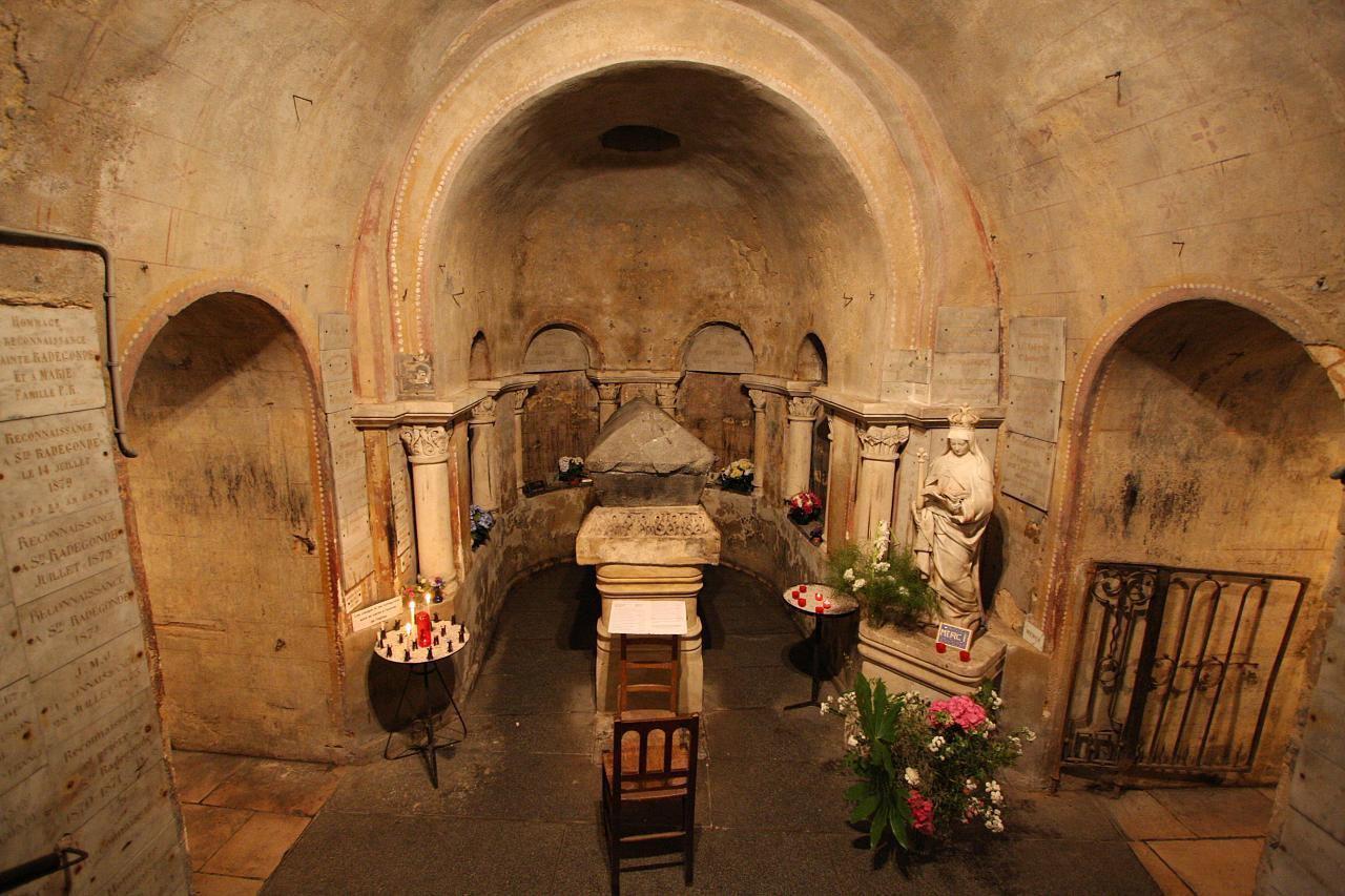 Église Sainte-Radegonde_Poitiers