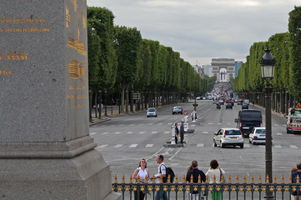 Perspective du terre-plein de l'Obélisque_Paris
