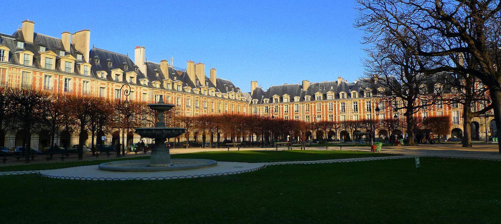 Place des Vosges_Paris
