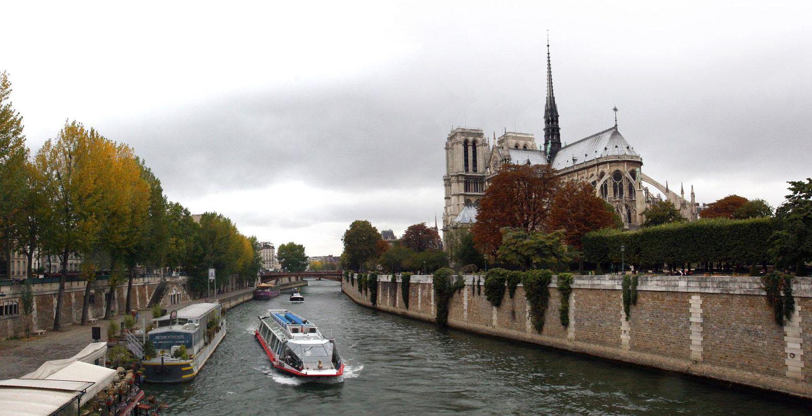 Point de vue du Pont de l'Archevêché_Paris
