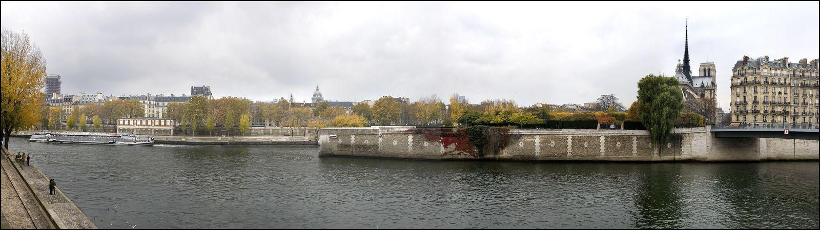 Point de vue du Quai d'Orléans_Paris