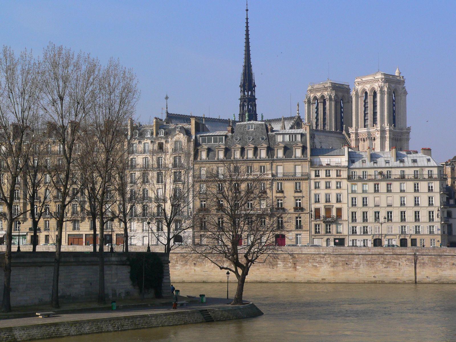 Quai de Bourbon_Paris