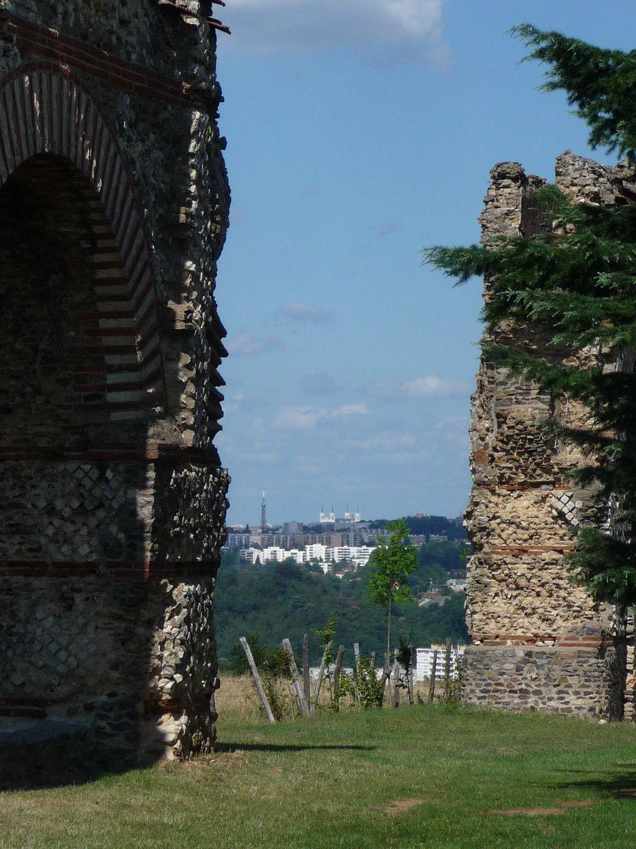 Aqueduc romain du Gier-Site du Plat de l'Air_Chaponost
