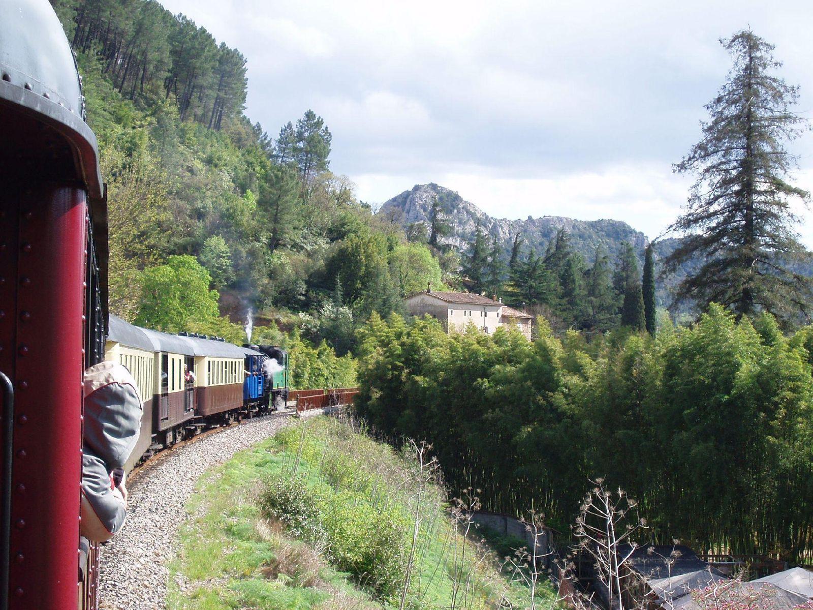 Train à vapeur des CÉVENNES_Anduze