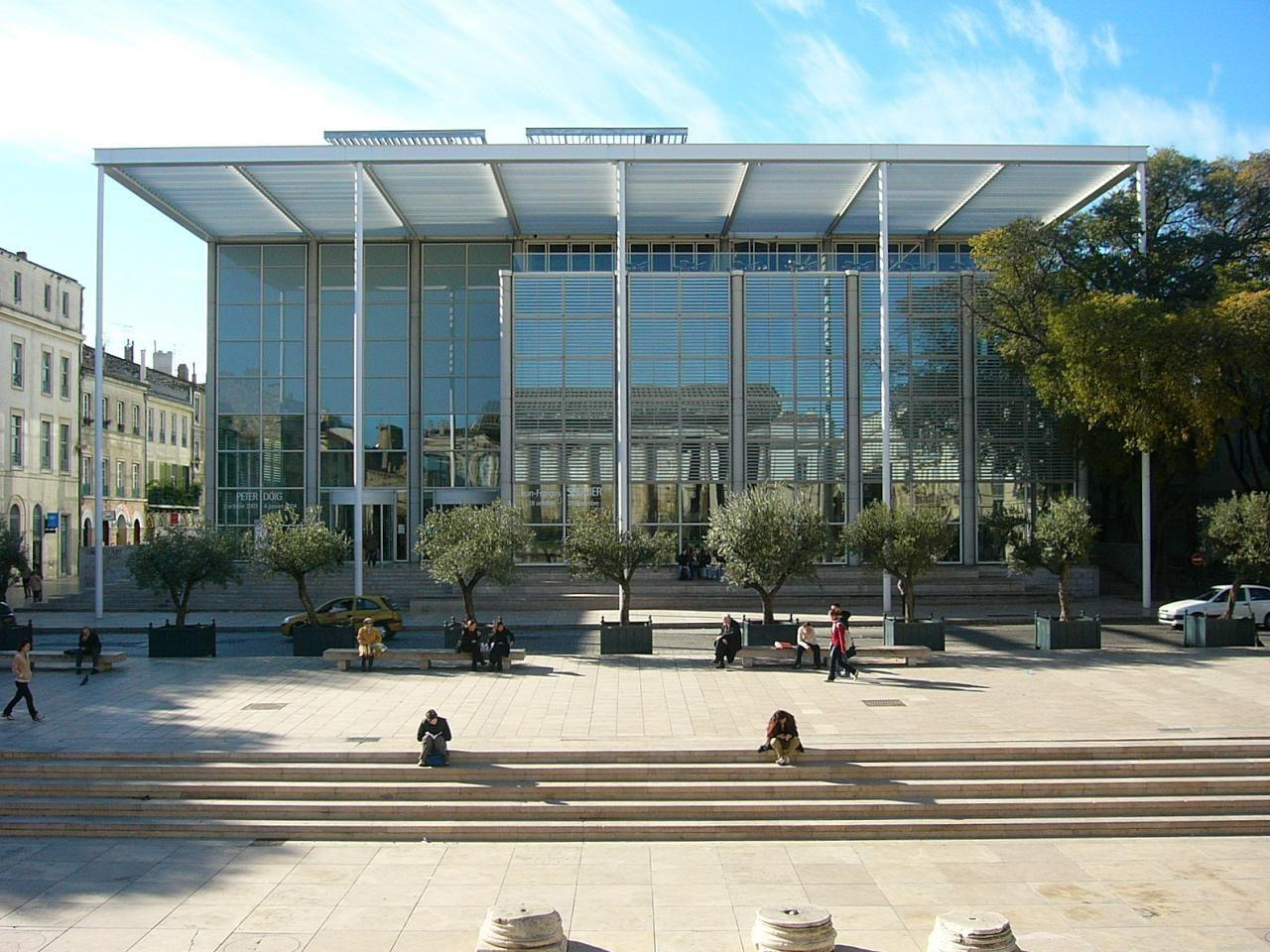 Carré d'art - Musée d'art contemporain_Nîmes