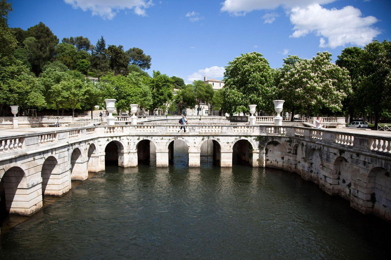Image : Jardins de Fontaine et Temple de Diane
