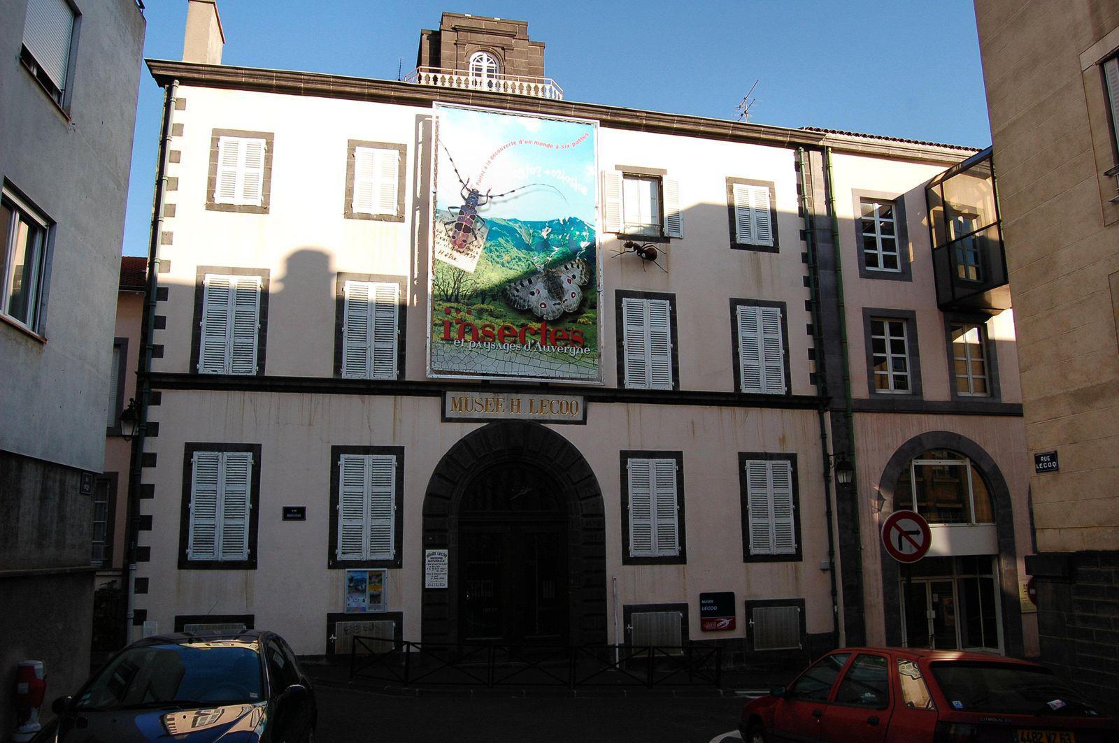 Musée d'histoire Naturelle Henri Lecoq_Clermont-Ferrand