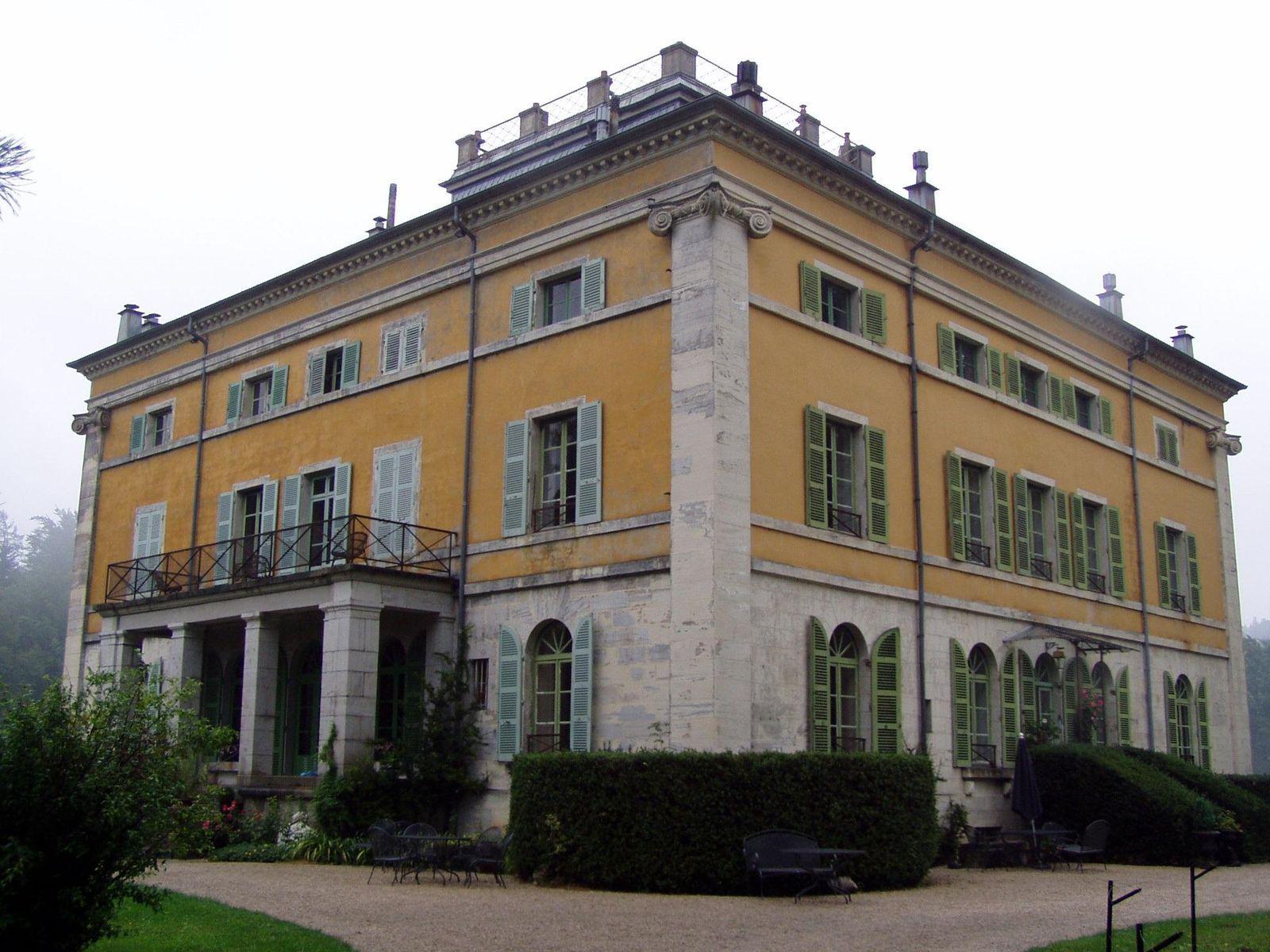 Villa palladienne de Syam_Les Nans