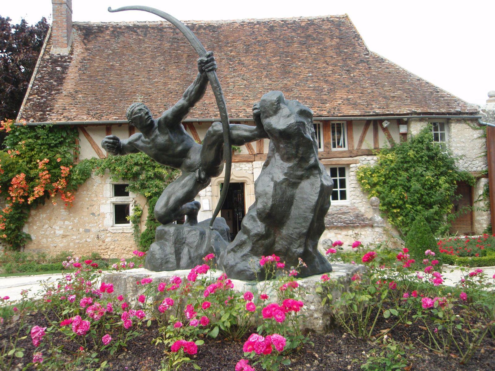 Jardin-musée départemental Antoine-Bourdelle_Égreville