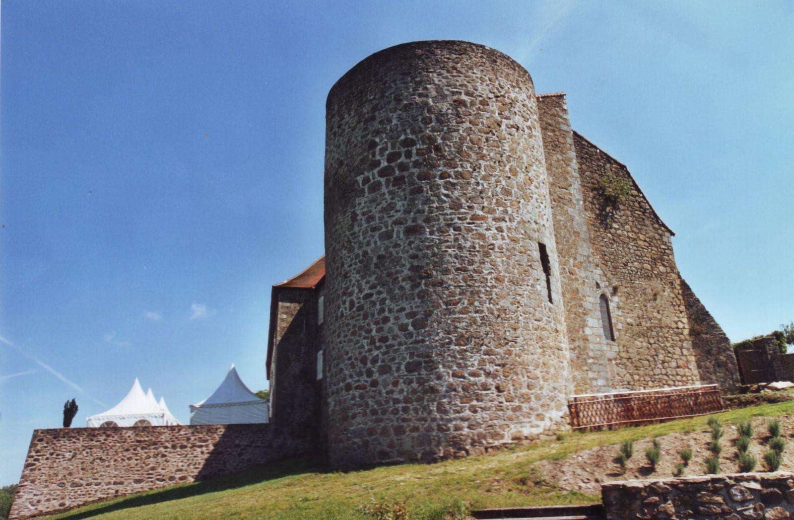 Château de Châlus-Chabrol_Châlus