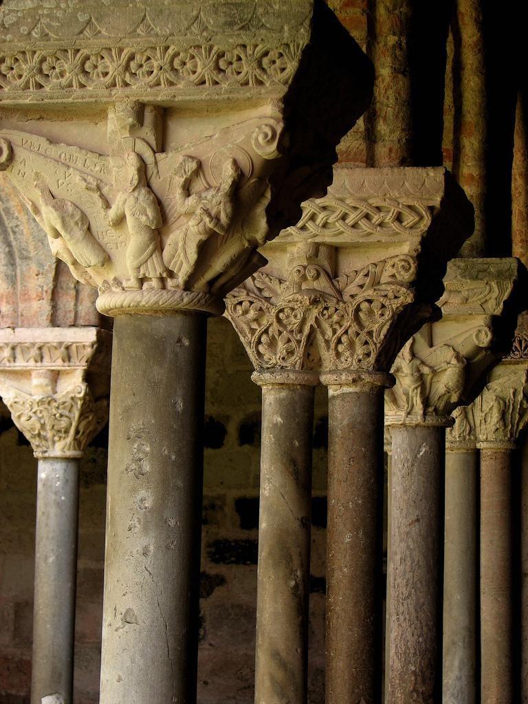 Cloitre de l'abbaye_Moissac