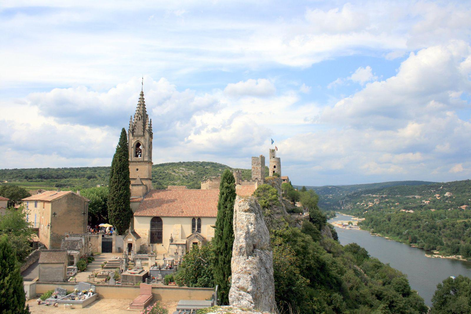 Image : Aiguèze