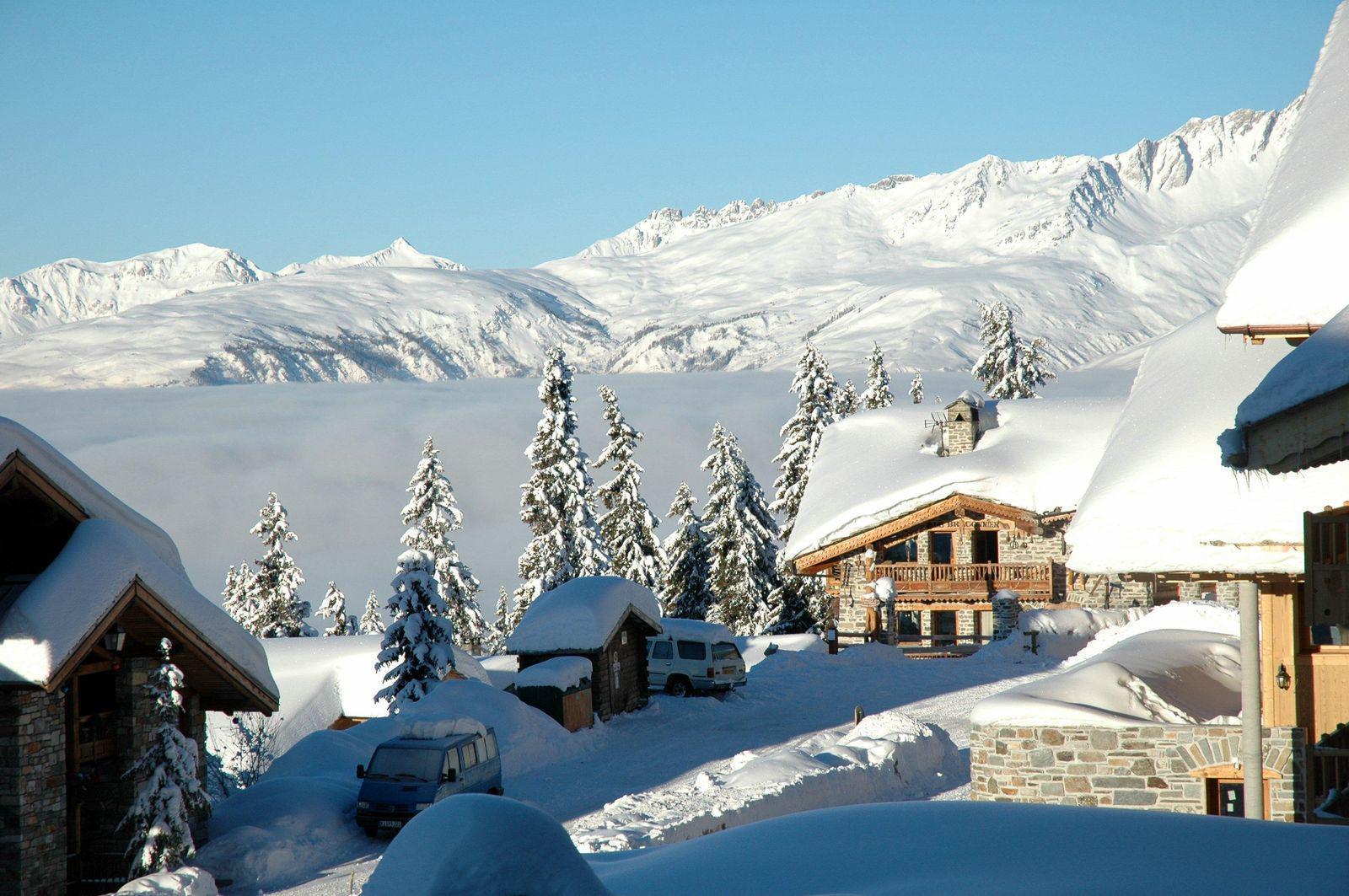 Station de ski du Rosière 1850_La Rosière