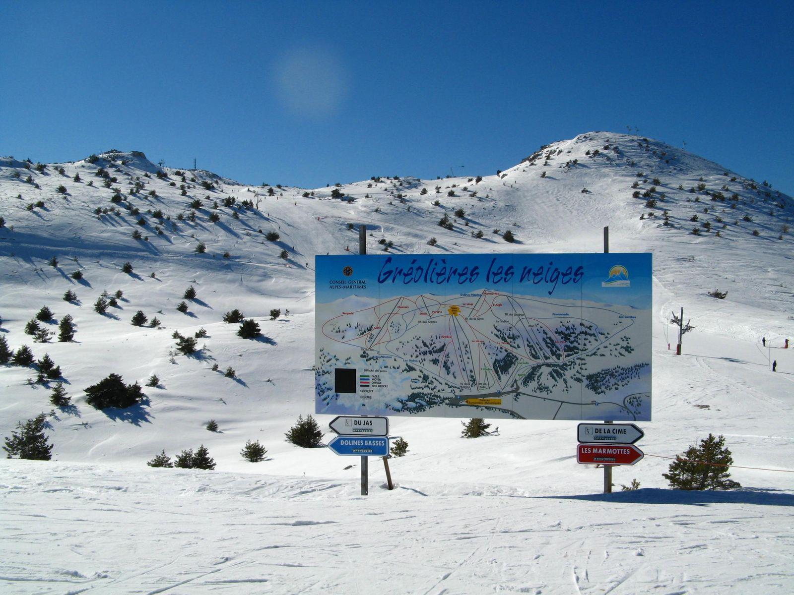 Station de ski de Gréolières les Neiges_Gréolières
