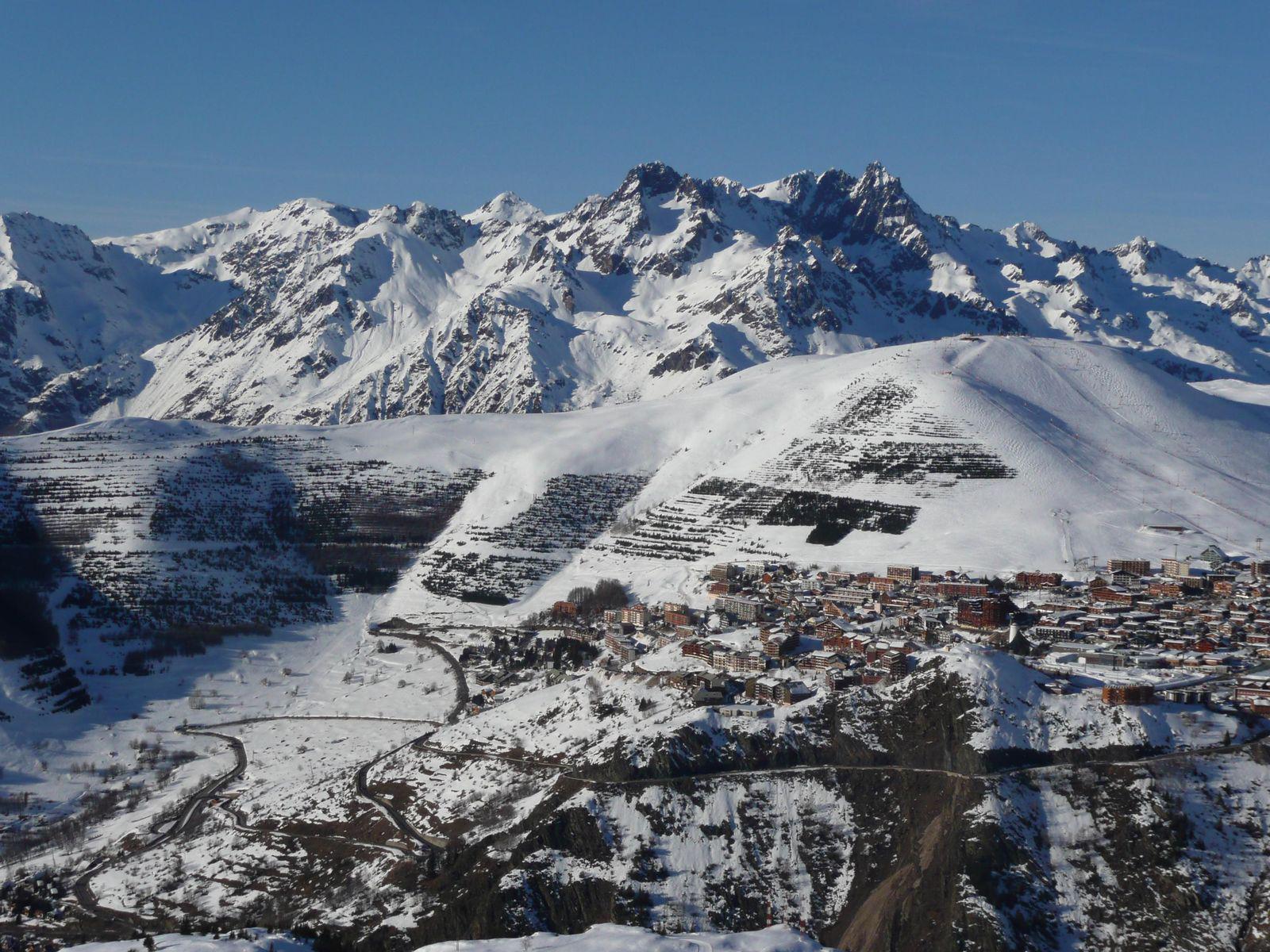 Station de ski d'Alpe d'Huez_Huez