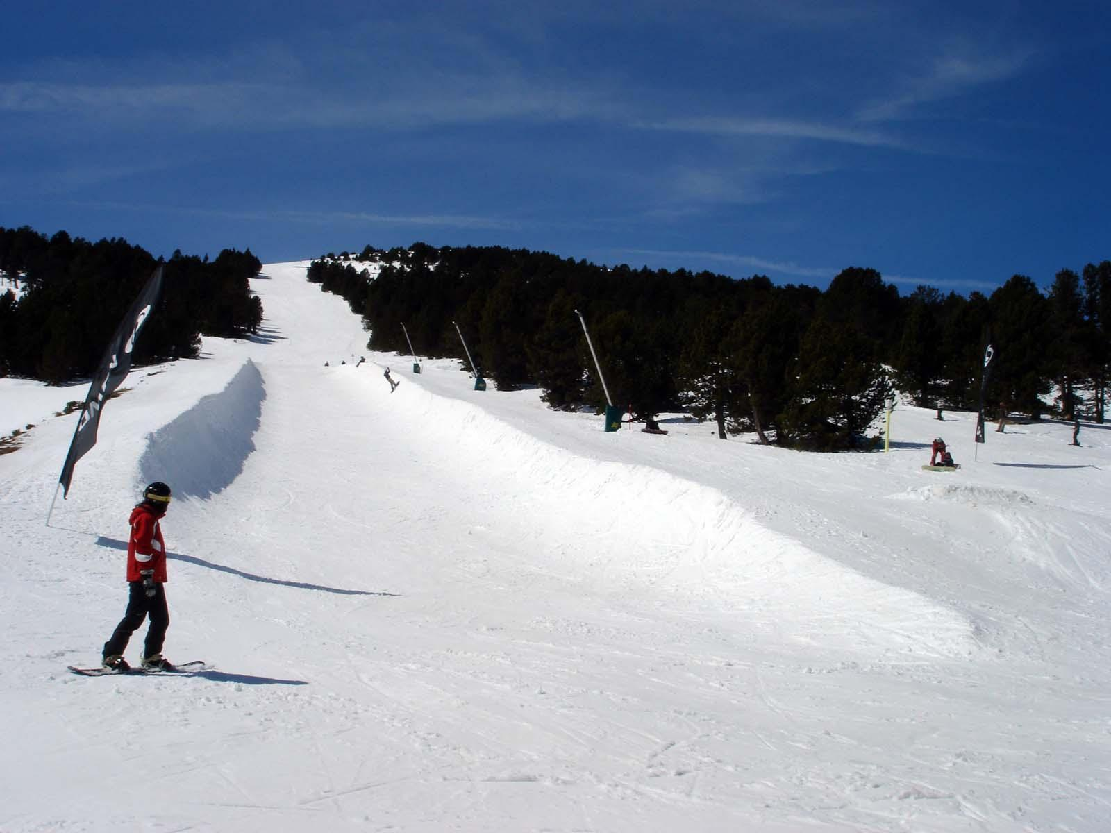 Domaine skiable LES ANGLES_Les Angles