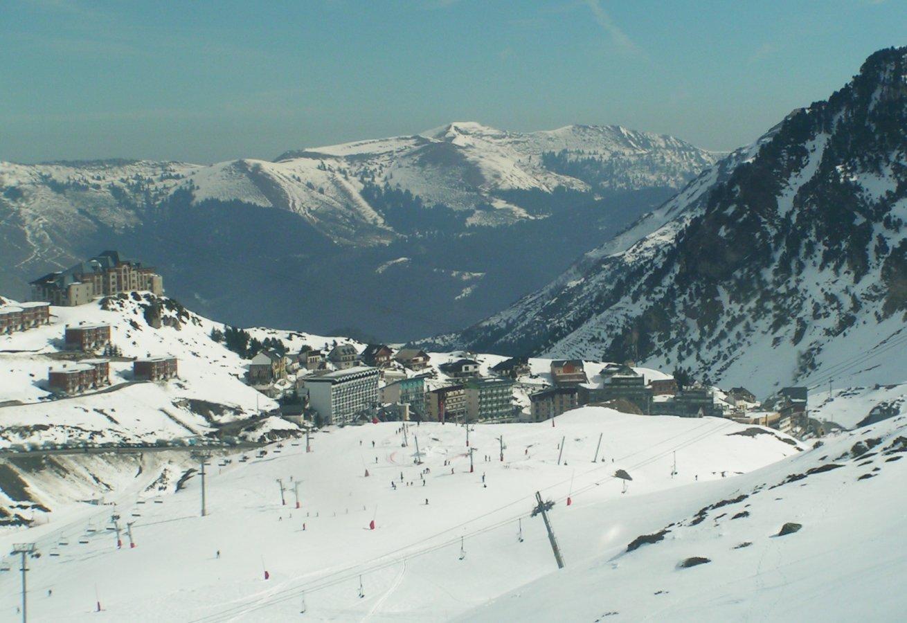 Station de ski de Mongie- Tourmalet_Campan