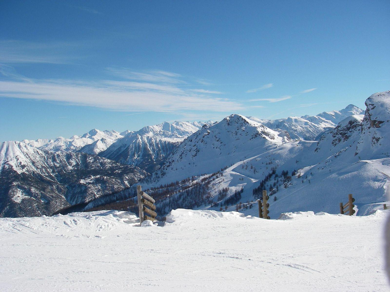 Domaine skiable SERRE CHEVALIER_Saint-Chaffrey